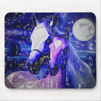 Horses in Love Mouse Pads