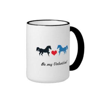 Horses in Love Mug