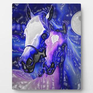 Horses in Love Plaque