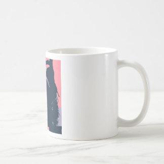 Horses in Love Pop Art Classic White Coffee Mug