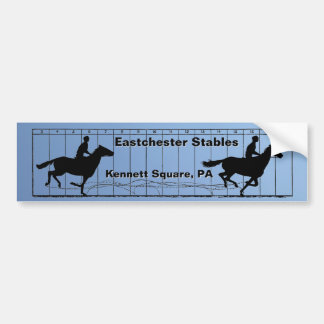 Horses in Motion Riding Academy Bumper Sticker