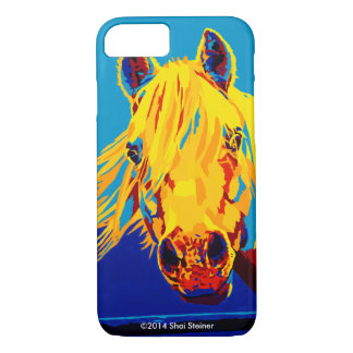 Horses in Primary iPhone case