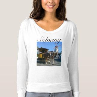 Horses in Solvang Califorina T-shirt