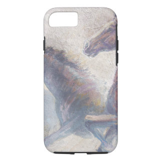 Horses In Stampede iPhone 8/7 Case