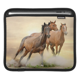 Horses In Sunset Sleeve For iPads