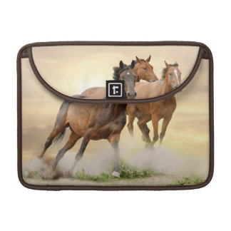 Horses In Sunset Sleeve For MacBook Pro
