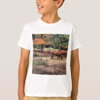 Horses in the Fall T-Shirt