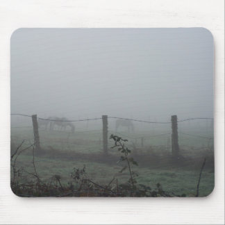 Horses In The Fog Mouse Mats