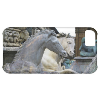 Horses in the Piazza Della Signoria Florence  Cell Cover For iPhone 5C