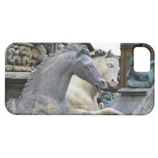 Horses in the Piazza Della Signoria Florence  Cell iPhone SE/5/5s Case