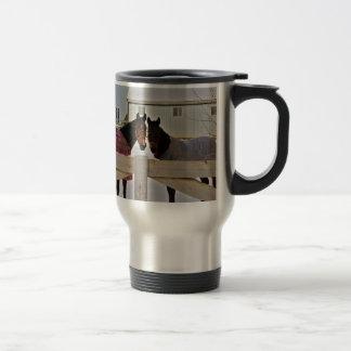 Horses in the Snow Series 2 Travel Mug