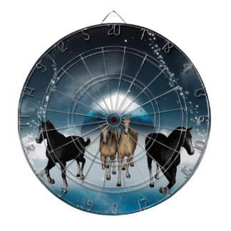 Horses in the universe dartboard