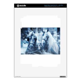 horses iPad 3 decal