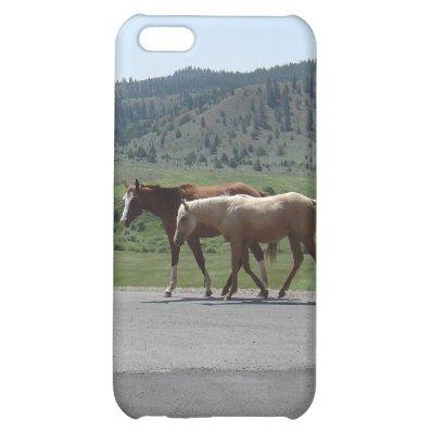 Horses iPhone 5C Cases