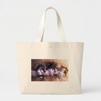 horses.jpg large tote bag
