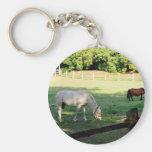 Horses Key Chain