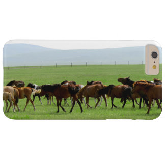 Horses Landscape Photo Barely There iPhone 6 Plus Case