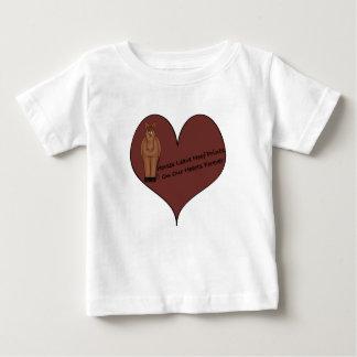 Horses Leave Hoof Prints Baby T-Shirt