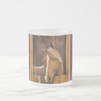 Horses leave Hoof Prints on our Lives Mug