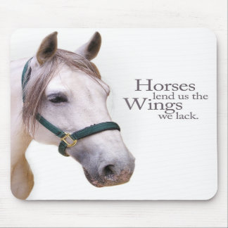 Horses Lend Us Wings Mousepad