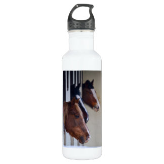Horses Liberty Stainless Steel Water Bottle