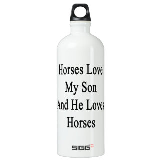 Horses Love My Son And He Loves Horses SIGG Traveler 1.0L Water Bottle