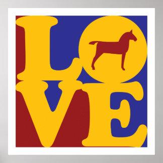 Horses Love Poster