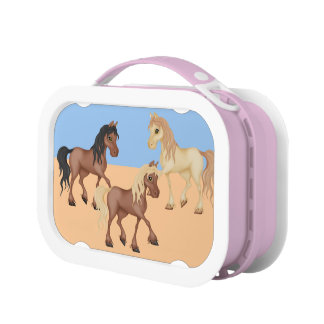 Horses Lunch Boxes