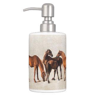 High Quality Horses Mares Foals Ranch Farm Animals Bath Set