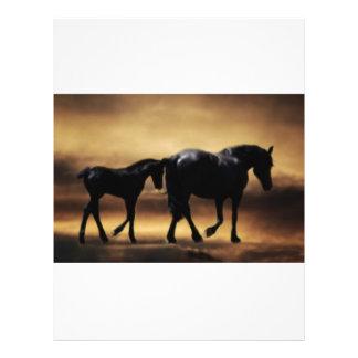 Horses mom and I Custom Flyer