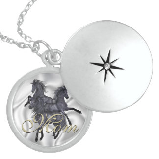 Horses Mother s Day Memory Necklace