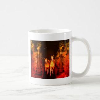 Horses Classic White Coffee Mug