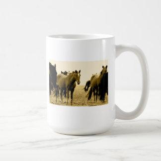 Horses Mug from the Flint Hills