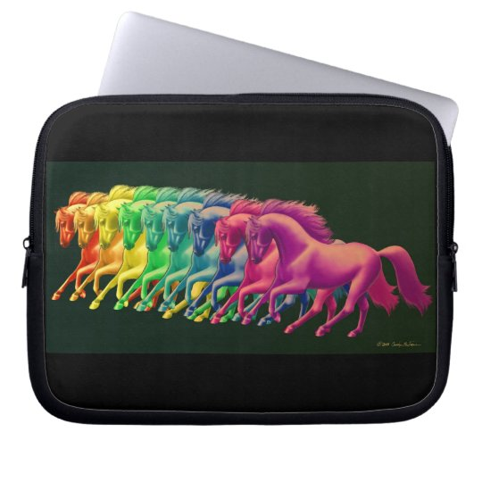 Horses of Different Colors Electronics Bag