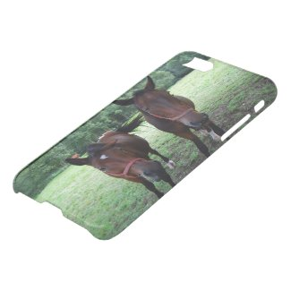 Horses on pasture iPhone 7 Clearly™ Deflector Case