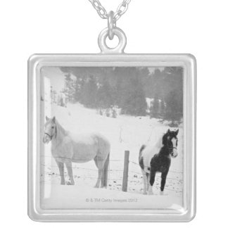 Horses on ranch jewelry