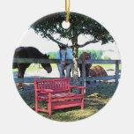 Horses Ornament