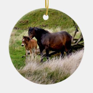 HORSES CHRISTMAS ORNAMENTS