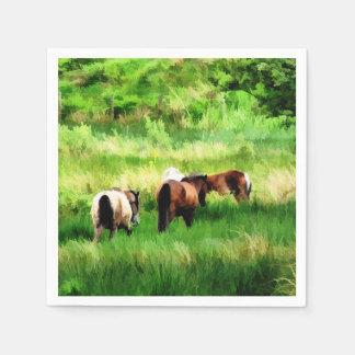 HORSES PAPER NAPKIN