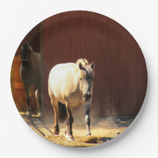 Horses Paper Plates