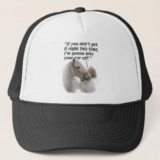 Horses - Paso Fino - Bite your ear Trucker Hat