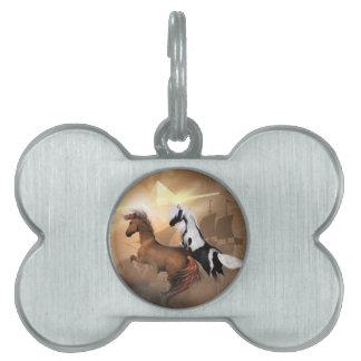 Horses Pet ID Tag
