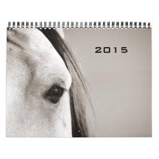 Horses Photograph 2015 Calendar