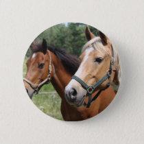 Horses Pinback Button