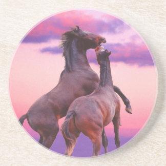 Horses Playing Coasters