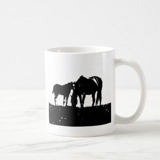 Horses Pop Art Coffee Mug