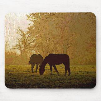 Horses Pop Art Mouse Pad