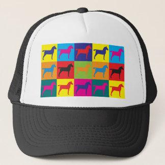Horses Pop Art Trucker Hat