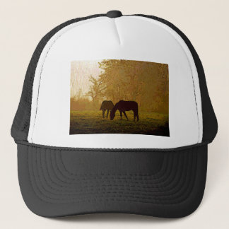 Horses Pop Art Trucker Hat