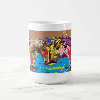 horses Portrait 09 Coffee Mug